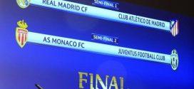 Sorteggi Champions: la Juventus pesca il Monaco; e sarà di nuovo Real-Atletico