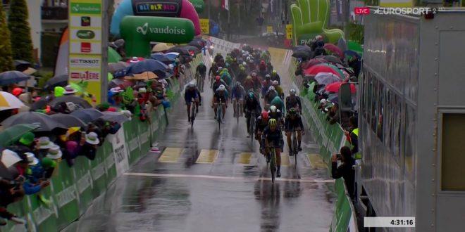 Giro di Romandia 2017, Albasini batte Ulissi a Champery