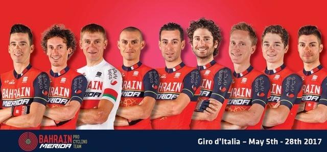 Giro 100, Bahrain-Merida e Vincenzo Nibali per un solo obiettivo: la Maglia Rosa!