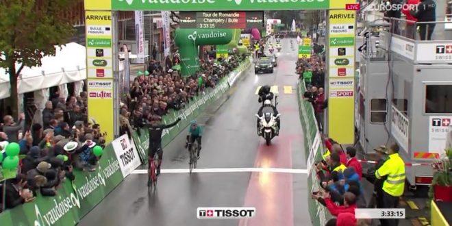 Giro di Romandia 2017, Kung più forte del freddo