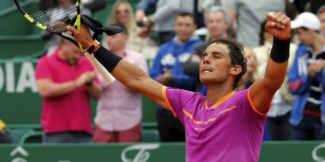 Monte-Carlo 2017, Rafa Nadal forza 10!
