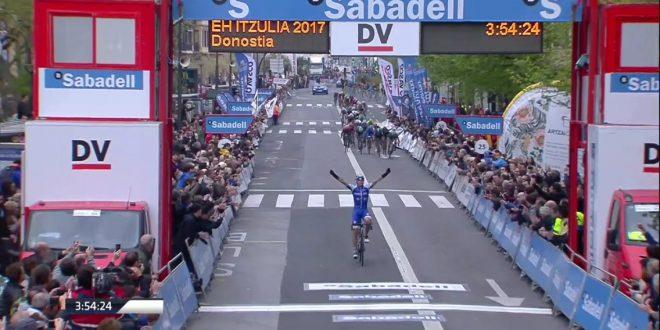 Giro dei Paesi Baschi 2017, tappa e maglia per De La Cruz