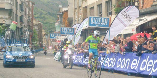 Vuelta Asturias 2017, fuga vincente di Roldan