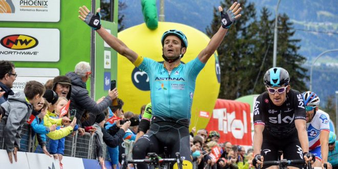 Tragedia: morto in un incidente Michele Scarponi
