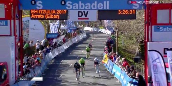 Giro dei Paesi Baschi 2017, Valverde primo ad Arrate: è il nuovo leader
