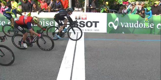 Giro di Romandia 2017, Payerne è azzurra: Viviani davanti a Colbrelli