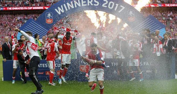 FA Cup: Arsenal-Chelsea 2-1; niente Double per Conte, Wenger 7 bellezze