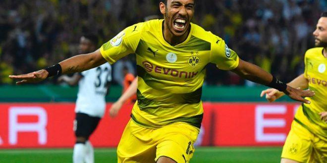 DFB-Pokal, Francoforte-Dortmund 1-2: decide il cucchiaino di Aubameyang