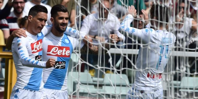Serie A, 36ª giornata: Napoli, manita da 2° posto; il Crotone sussulta ancora e vede la salvezza
