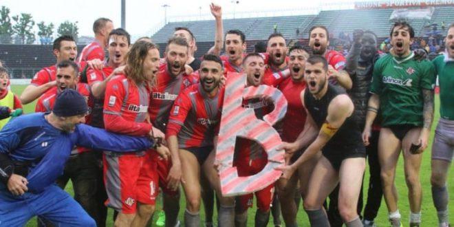 Serie B, ecco la terza neopromossa: dopo 11 anni la Cremonese torna in cadetteria