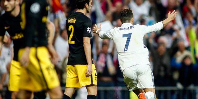 Champions, semifinale: Real-Atletico, anzi Ronaldo-Atletico è 3-0! CR7 è un marziano!