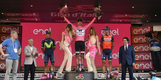 Giro 100: Quintana e Nibali schiacciati dalla Farfalla Dumoulin