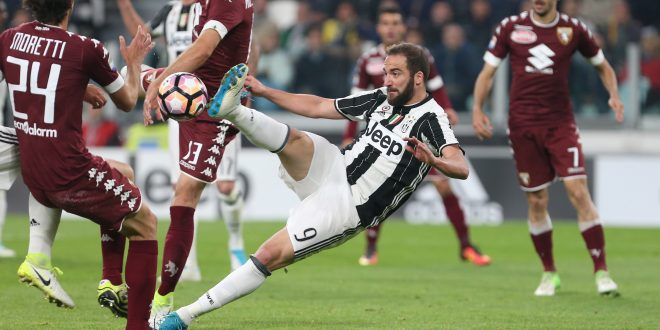 Serie A, 35ª giornata: Juventus-Torino 1-1, Higuain riprende Ljajic; la striscia si ferma a 33