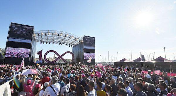 Il Giro 100 è già un successo di sport, cultura e solidarietà