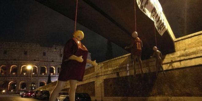 Roma il giorno dopo i fatti del Colosseo: il «sano sfottò» degli Irriducibili laziali che nessuno ha capito