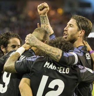 Liga, per il Real il titolo s'avvicina: a Vigo finisce 1-4, CR7 solito mattatore