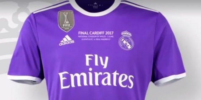 Juventus-Real Madrid: le merengues indosseranno il viola; niente blu per la Signora