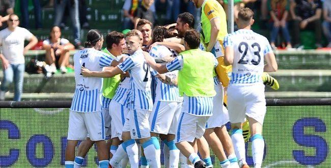 Serie B, 41ª giornata: Spal, che dolce sconfitta, è Serie A! Rinvia il Verona, crolla il Frosinone