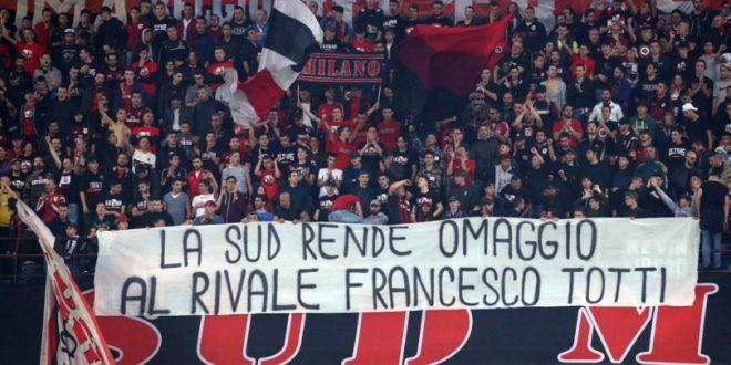 Serie A, Milan-Roma 1-4 ma Totti non entra: lo sgarbo di Spalletti alla storia