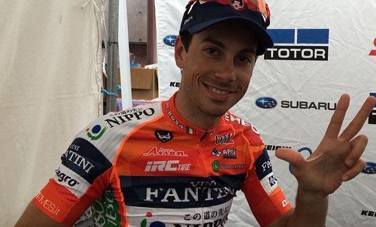 Oscar Pujol vince il Giro del Giappone 2017. Brilla Marco Canola