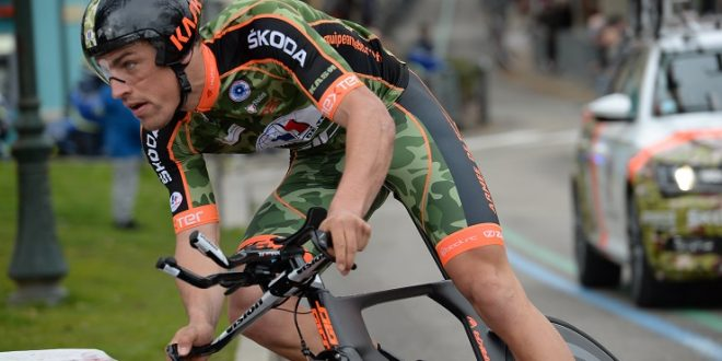 Giro del Lussemburgo 2017, Gaudin vince il prologo