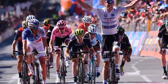 Giro d'Italia 2017: Jungels festeggia a Bergamo, Dumoulin sempre in rosa