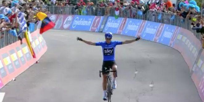 Giro d'Italia 2017: Landa, stavolta è tua! A Piancavallo Quintana in Maglia Rosa