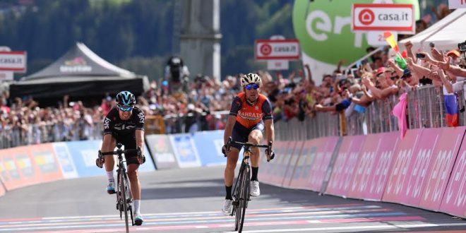 Giro d'Italia 2017: finalmente Nibali a Bormio; Dumoulin crolla ma resta in Rosa