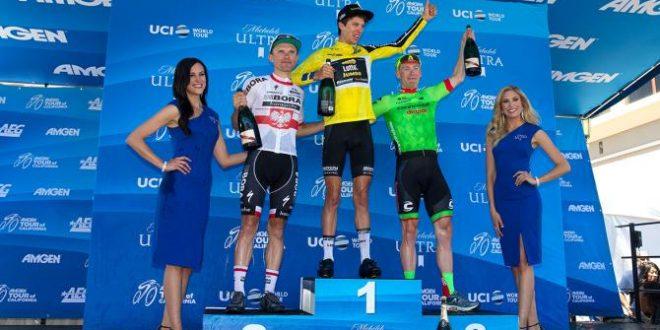 Bennett vince il Giro della California 2017, ultima tappa a Huffman