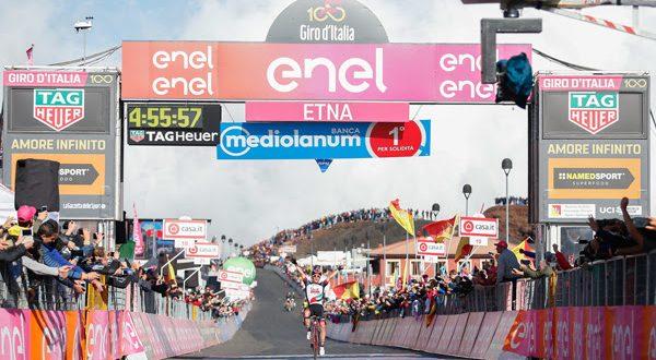 Giro 100: i big si studiano, ne approfitta Polanc. Analisi e video highlights dall'Etna