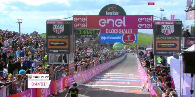 Giro d'Italia 2017, Quintana mette le cose in chiaro sul Blockhaus: è già Maglia Rosa!