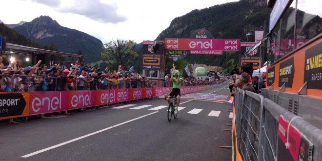 Giro d'Italia 2017, Rolland primo a Canazei