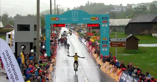 Tour des Fjords 2017, Roosen beffa Boasson Hagen