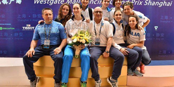 CDM Scherma: Martina Batini d'oro a Shanghai
