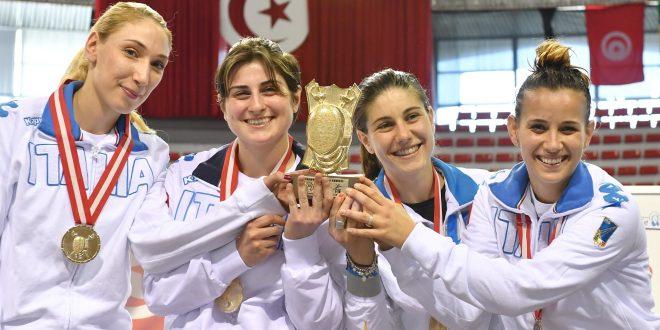 CDM Scherma: sciabola donne oro a Tunisi, spada uomini argento a Parigi