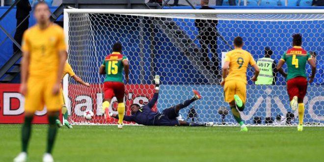 Confederations Cup, 2ª giornata: Camerun-Australia finisce con un inutile 1-1