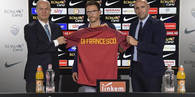 Roma, Eusebio Di Francesco è il nuovo allenatore: accordo fino al 2019