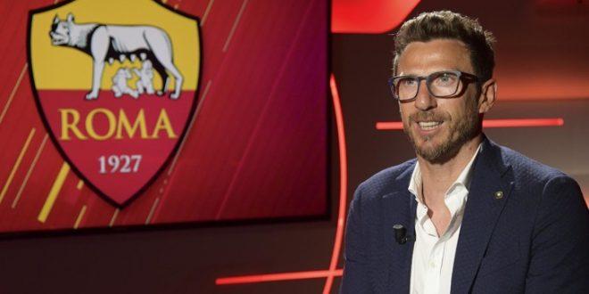 Roma, Di Francesco si presenta: scelto per il gioco; mi piacerebbe lavorare con Totti