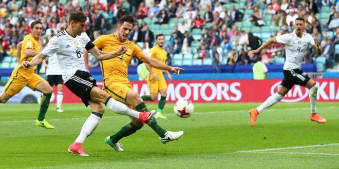 Confederations Cup 2017, 1ª giornata: la Germania rischia grosso, poi è 3-2 all'Australia