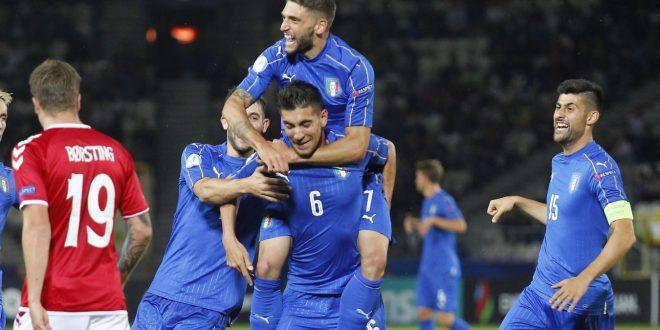 Europei Under 21 2017: Italia-Danimarca 2-0, azzurrini forti col fattore P