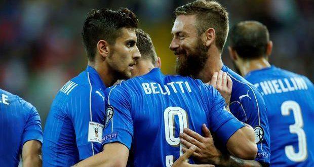 Qualificazioni Russia 2018, bella manita Italia al Liechtenstein: al Friuli finisce 5-0