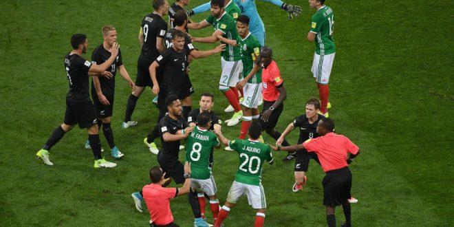 Confederations Cup 2017, 2ª giornata: Messico-Nuova Zelanda 2-1, la Var impazzisce di nuovo