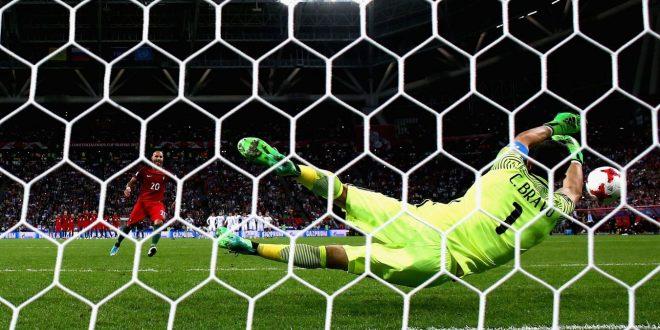 Confederations Cup: ma che Bravo il Cile, il Portogallo crolla ai rigori!
