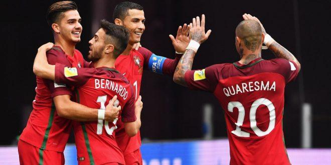 Confederations Cup, 3ª giornata: Portogallo-Nuova Zelanda 4-0, troppo facile per CR7&co.