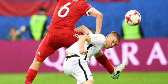 Confederations Cup 2017: niente sorprese, Russia-Nuova Zelanda 2-0