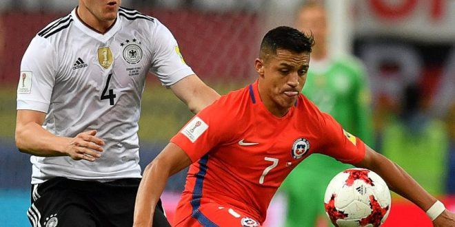 Confederations Cup, 2ª giornata: Germania-Cile 1-1, Sanchez nella storia della Roja