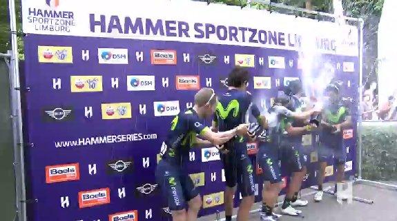 Hammer Series Limburg 2017, alla Movistar la prima prova