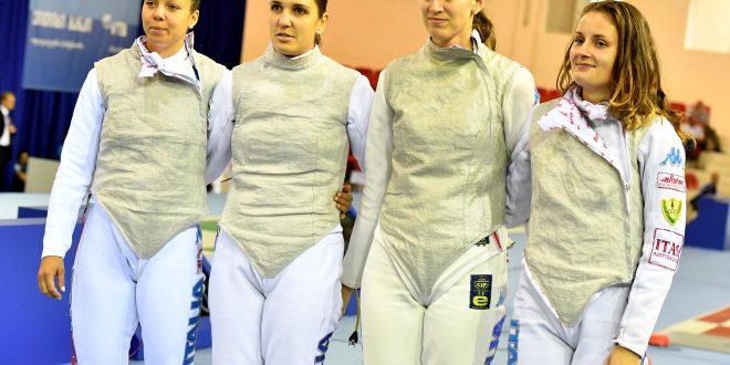 CDM Fioretto: quartetto azzurro d'argento a Cancun; oro alla Russia
