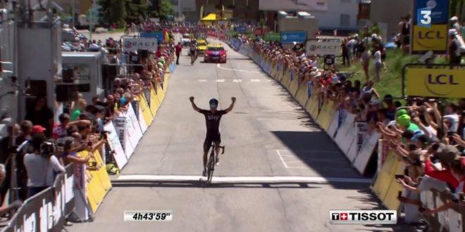 Giro del Delfinato 2017, Kennaugh conquista l'Alpe d'Huez