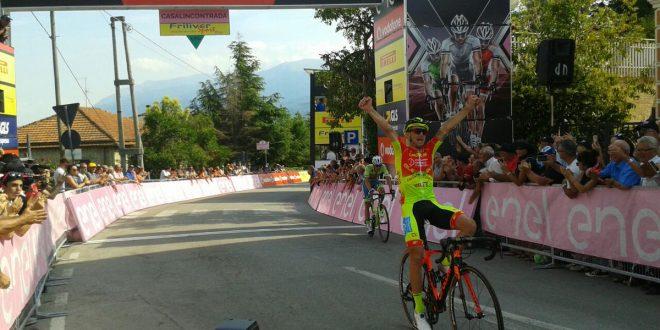Giro d'Italia Under 23, finalmente Italia: Romano conquista Casalincontrada